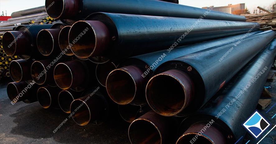 Трубы в ППУ от производителя